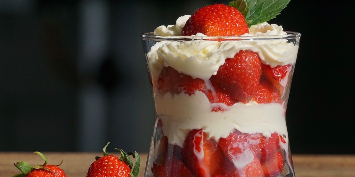Eton Mess in a glass