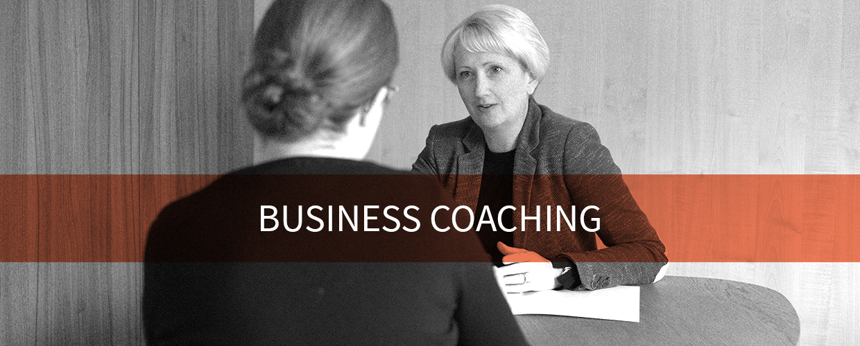 Business Coaching Kirsty Voisin with a client